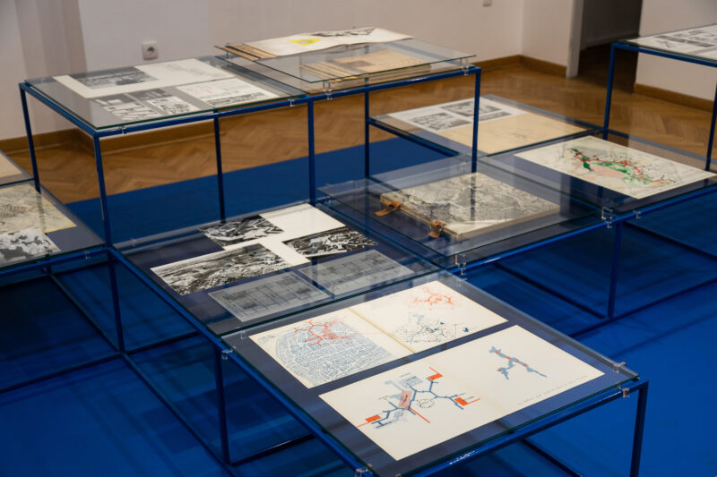 Exhibition on view 02.11-26.11. 2020. | Candilis, Josic, Woods: Structuring the Common; Documents from the Josic family archive | The Science and Technology Gallery SASA